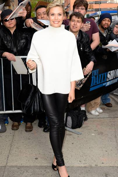 The Daily Show studios, New York - April 27 2015
