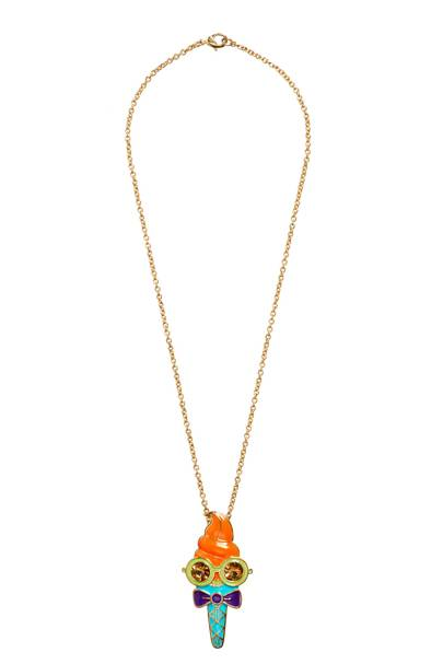 Mrs Quiffy necklace, £30