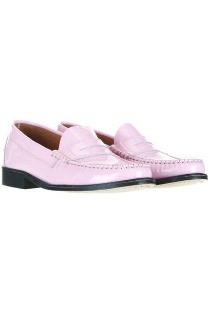 Pink loafers, £70