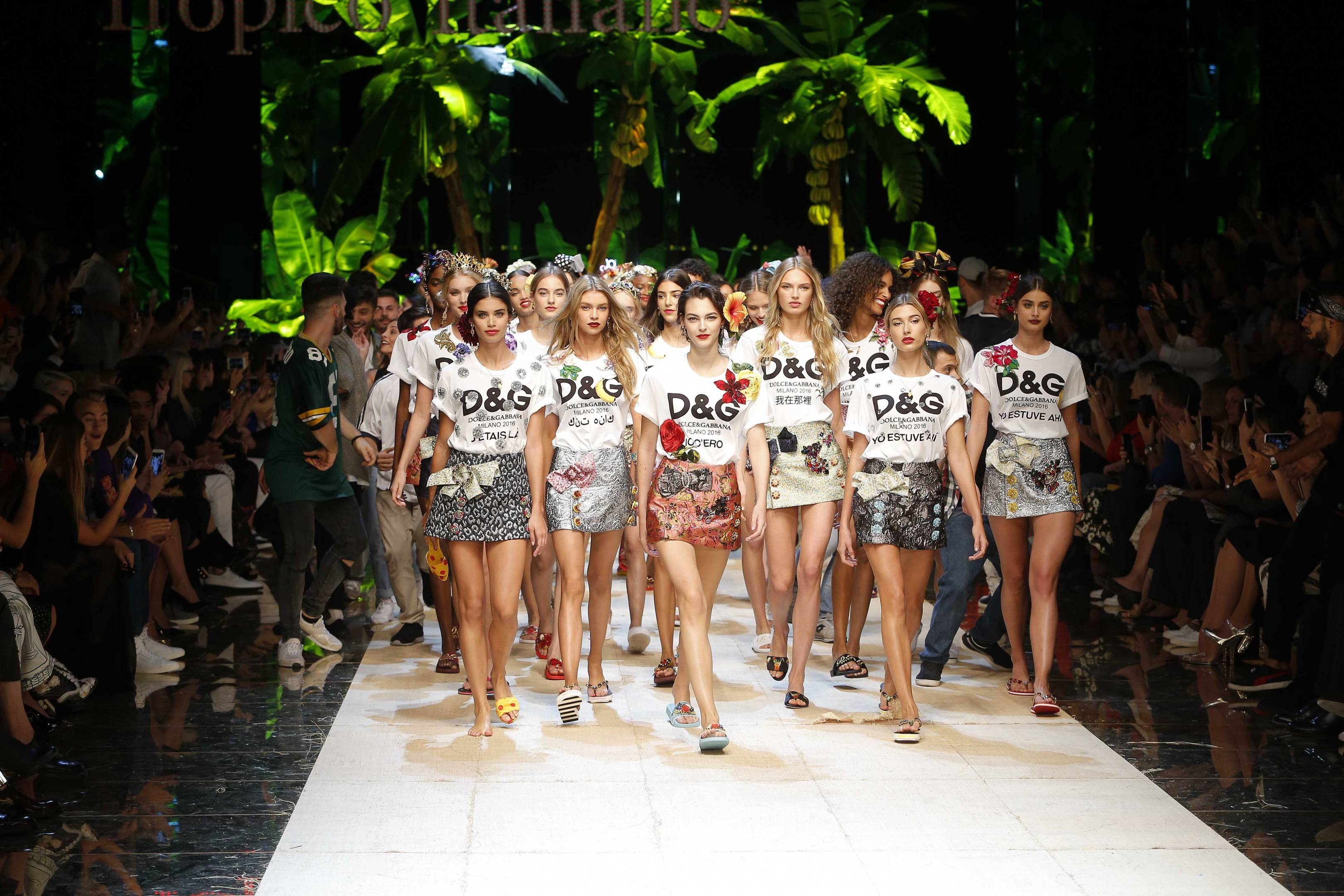 0609b6b14d737 Suzy Menkes reviews the Dolce   Gabbana show at Milan Fashion Week    British Vogue