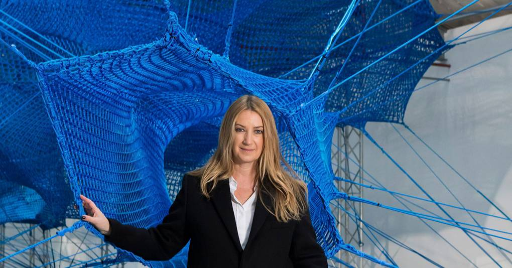 Anya Hindmarch's Weave Project Sets Fashion Editors A Climbing Challenge