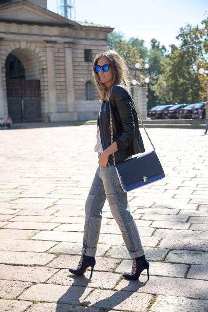 Erika Boldrin, blogger and stylist