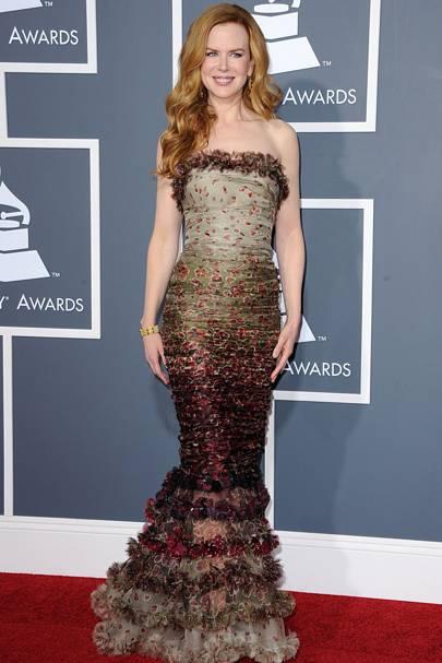 2011 Grammy Awards Dresses Strapless