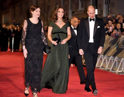 The Duchess of Cambridge made a non-political statement