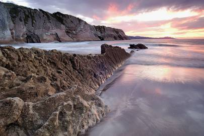 Itzurun Beach, Zumaia, Spain