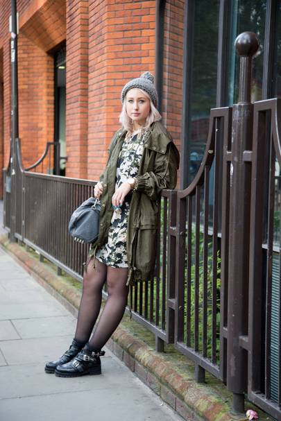 Holly Coopey, fashion co-ordinator