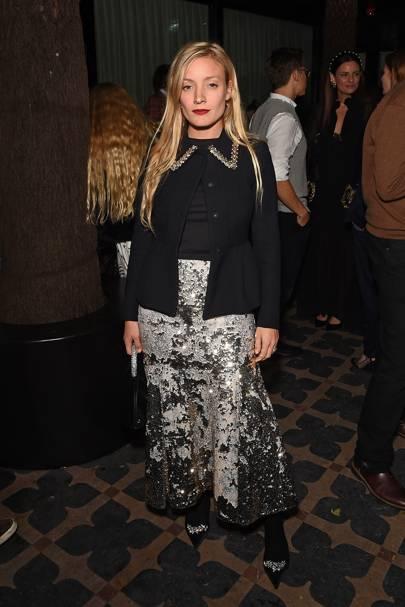 Celebrities Wearing Sequinned Party Wear British Vogue