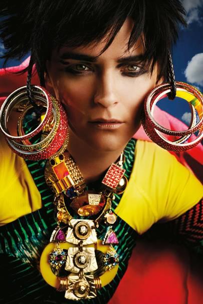 Carmen Kass - Vogue May 2012