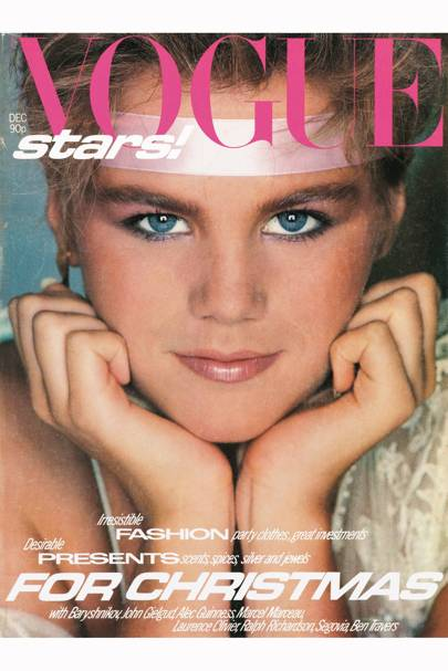 Vogue Cover, December 1980