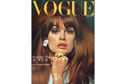 Jean Shrimpton, Vogue June 1965, by David Bailey.