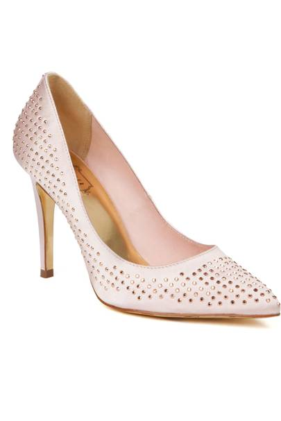 Studded court shoe, £120