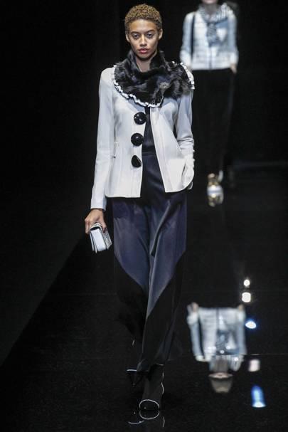Emporio Armani Autumn/Winter 2017 Ready-To-Wear show report | British Vogue