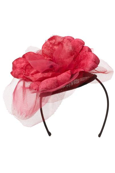 Floral headpiece, £75