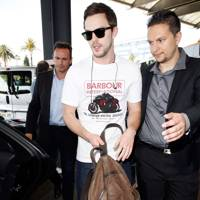 Arrivals at Nice Airport - May 13 2015