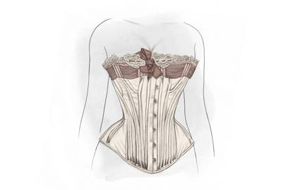 It started with a corset...
