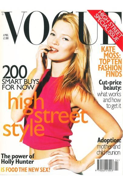 Vogue Cover, April 1996