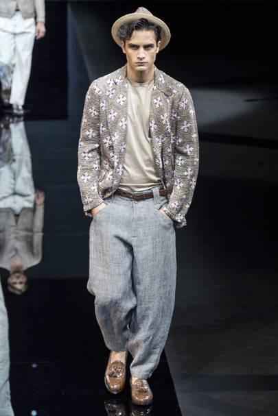 842e6c701297 Giorgio Armani Spring Summer 2017 Menswear show report   British Vogue