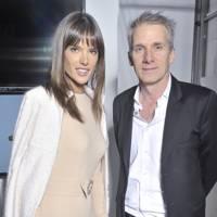 Model Alessandra Ambrosio and Bonpoint CEO Hugues de la Chevasnerie