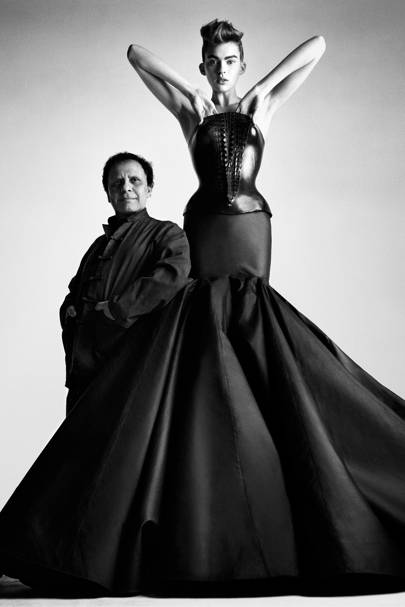 A is for Azzedine Alaia