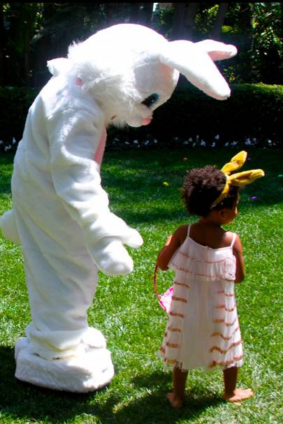 When She Out-Bunnied The Easter Bunny