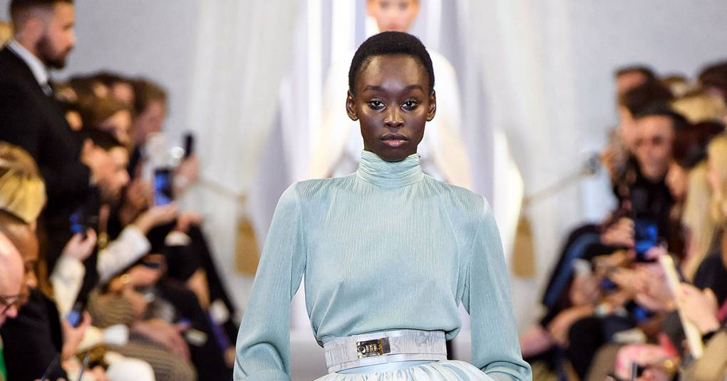 new styles d6085 59a35 Brandon Maxwell Autumn Winter 2019 Ready-To-Wear show report   British Vogue