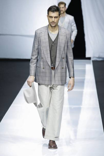 6908345b Giorgio Armani Spring/Summer 2019 Menswear show report | British Vogue