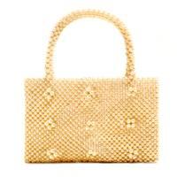 Mango: pearl-embellished bag