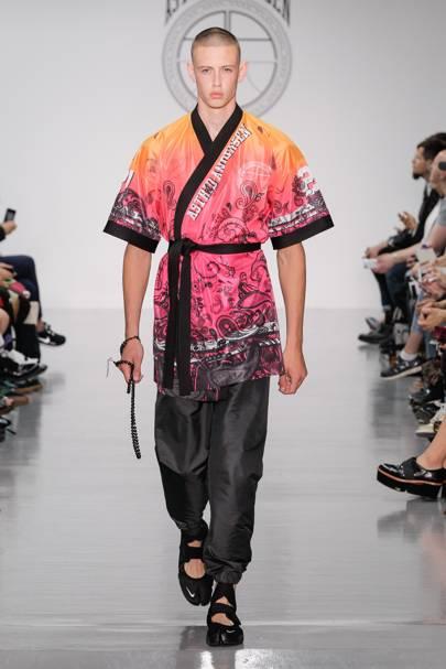 c4dac8c7 Astrid Andersen Spring/Summer 2015 Menswear show report   British Vogue