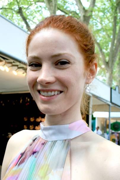 Gisela Konker, model and actress