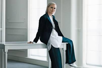 73794642846 Maria Grazia Chiuri On Taking The Reins At Dior