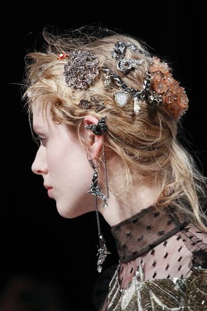 The Hair Accessory: Decadent Excess