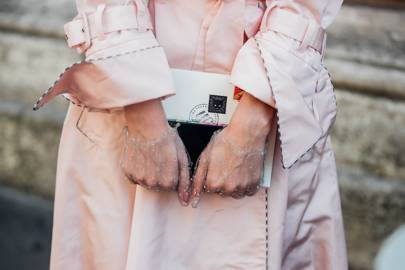 A Sheer Barely-There Glove