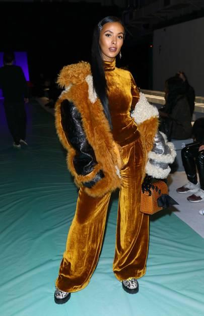 Ashley Williams Fashion Show, London - February 15 2019