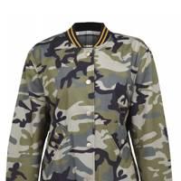 Camouflage bomber jacket, £80
