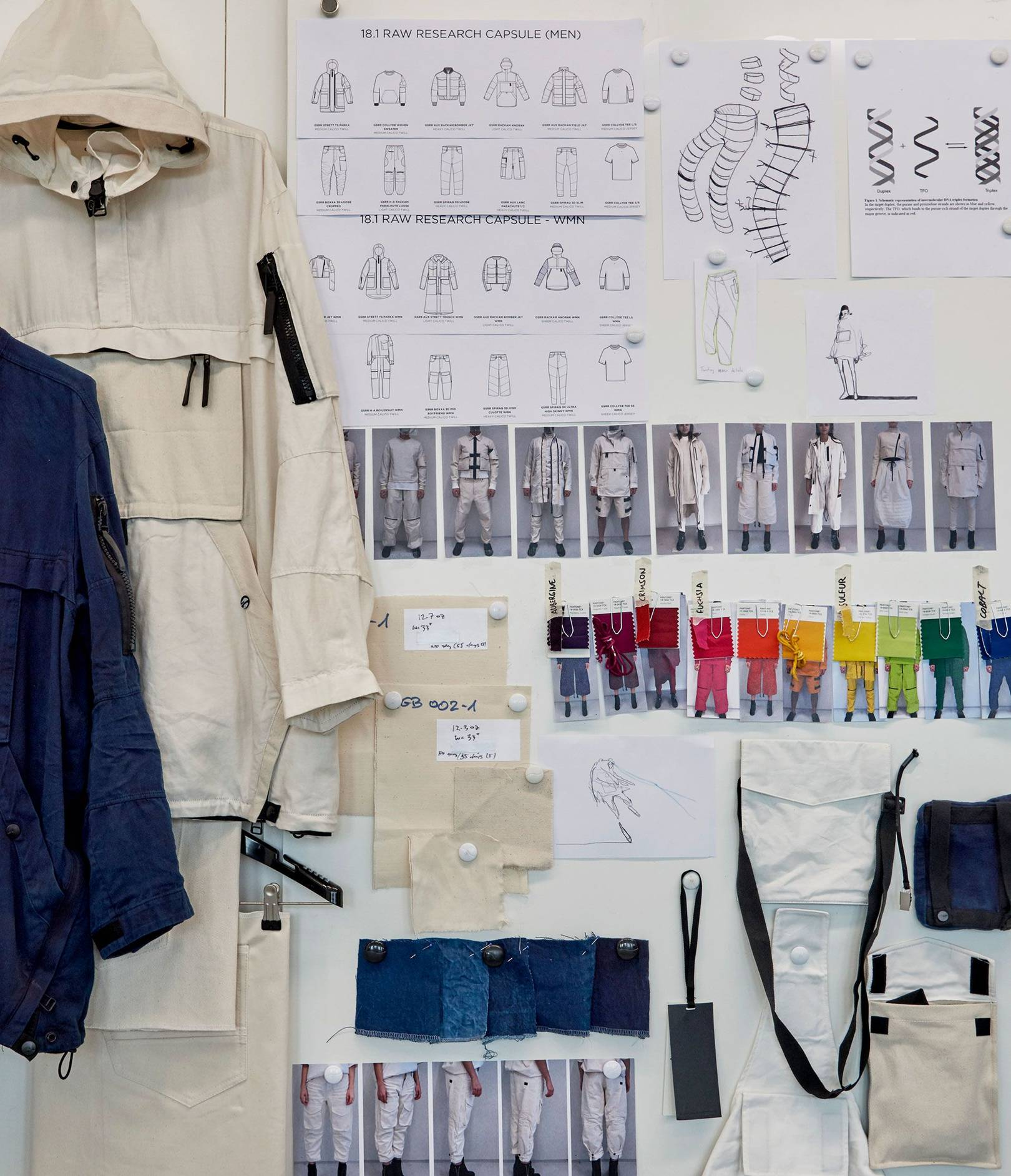 2a6363f4c77 How Aitor Throup Is Fusing Fashion With Art - G-Star Raw Research  Womenswear Collection Interview | British Vogue