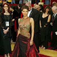 Halle Berry in Elie Saab
