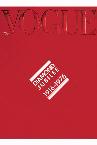 Vogue Cover, October 1976