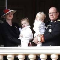 Princess Charlene and Prince Albert of Monaco