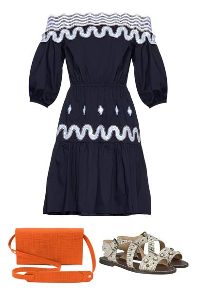 What to wear to a wedding british vogue for Dress for wedding guest abroad