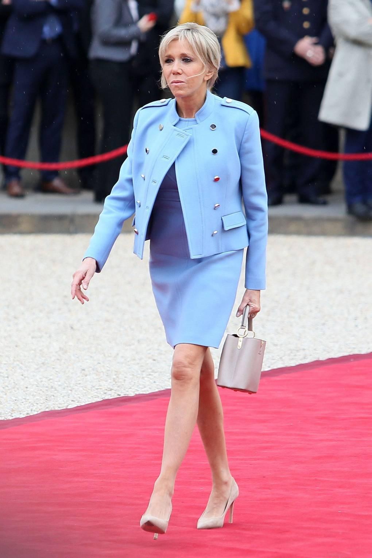 brigitte trogneux french first lady style british vogue