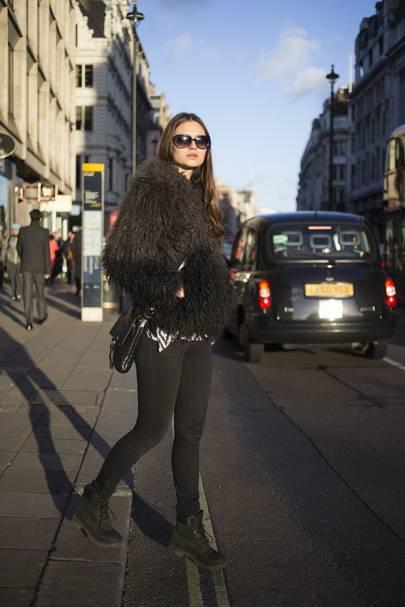 Yana Sotnikova, model