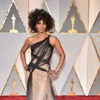 Halle Berry in Versace Couture