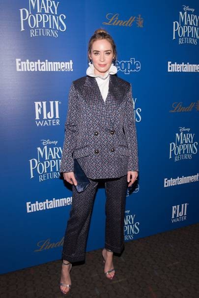 """Mary Poppins Returns"" screening, New York - December 17 2018"