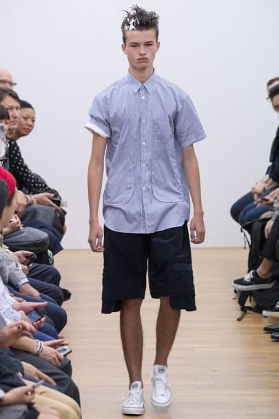 2016 Report Comme Menswear Show Des Springsummer Garcons Shirt AAnwaqRp