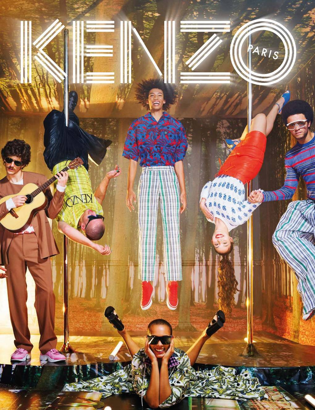 54eab9dc2 David LaChapelle On Recruiting Humberto Leon's Mum For Kenzo's SS19  Campaign | British Vogue