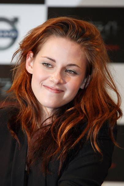 kristen stewart hairstyle hair amp colour pictures 2002 to
