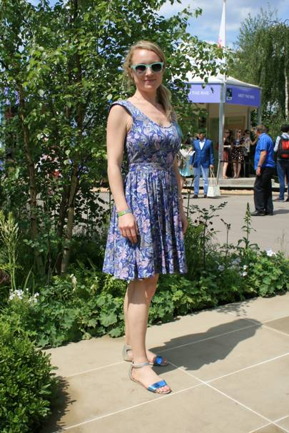 Edith Serkovich, works for the Royal Horticultural Society