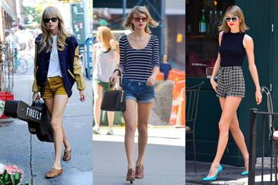 Taylor Swift's short shorts