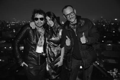 Olivier Zahm and Terry Richardson