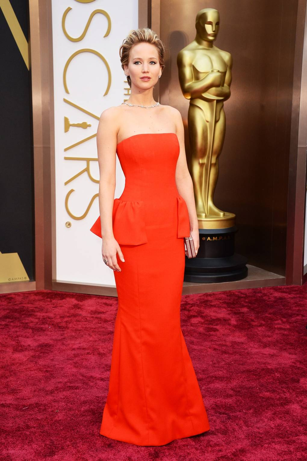Oscars 2014 – Red Carpet Dresses & Outfit Picture Gallery | British